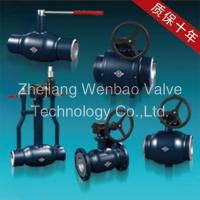 China Carbon Steel Fully Welded Ball Valve Pn16 wholesale