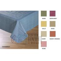 China Caf Deauville Vinyl Tablecloth from Lintex Linens wholesale