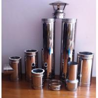 China Stainless double wall spigot chimney system wholesale