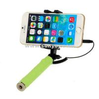 Buy cheap NE-SF026CSuper Mini Folding Selfie extendable monopod With Cable Fits In Pocket from wholesalers
