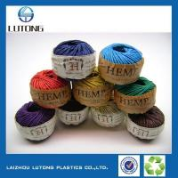 China Waxed Hemp String For Jewelry -making , 1mm, 100 Yards, 80 Grams Per Roll. wholesale