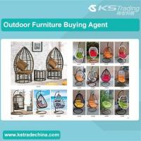 China Outdoor Furniture Colourful various garden double swing chair wholesale