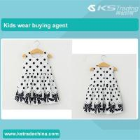 China Kids casual dress girls dresses summer wear wholesale