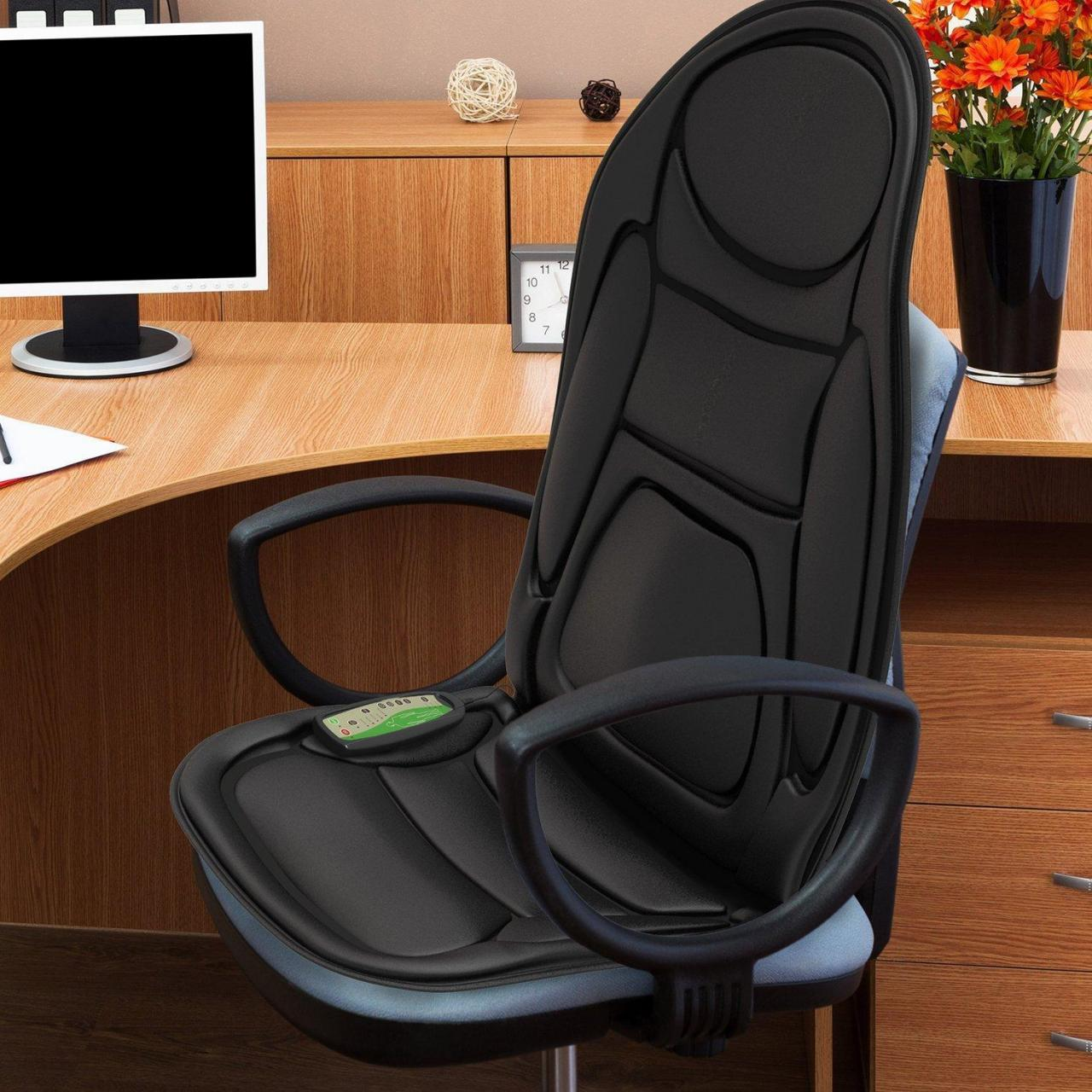 Buy cheap ... Electric Vibrating Chair Massager, Heated Massaging Pad - Massagers from wholesalers