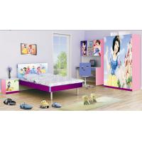 China Pink Bedroom Furniture Ottoman Storage Diamond Beds Chairs For Girls ... wholesale