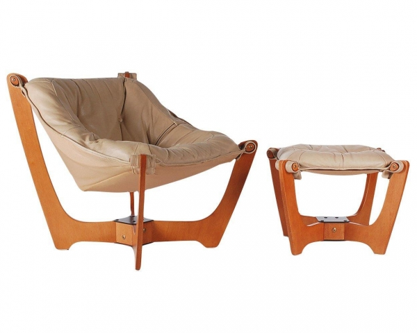China Luna Chair Designed By Odd Knutsen And Produced In Norway. The Chair ...