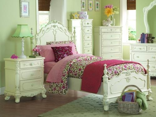 China Girls' bedroom furniture, white, always in vogue