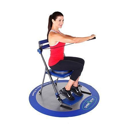 China Chair Gym Exercise System With Twister Seat And Workout Dvds 7395682