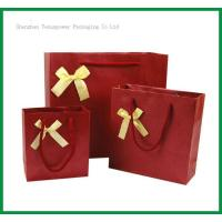 China TSP837 Bow Tie Paper Shopping Bag wholesale