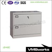 China Top Quality Steel 2 Drawer Lateral Filing Cabinet With Card Holders on sale
