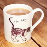 China Mugs Tabby Cat China Mug by Madeleine Floyd wholesale