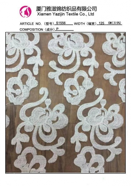 Beaded Heavy Lace Fabric Images