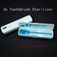 China Portable Uv Light Toothbrush Sterilizer/Tooth UV and Ozone Sterilization Box wholesale