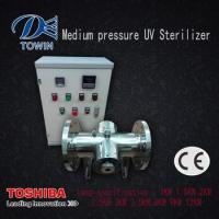 China medium pressure UV disinfection system Swimming Pool/drinking water UV Sterilizer wholesale