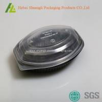 China Plastic disposable bento boxes for sale on sale