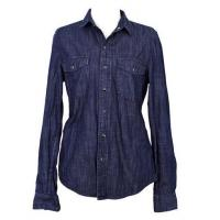 China Fashionable Hot Sale Causal Design Washed Denim Shirt in Premium Cotton on sale