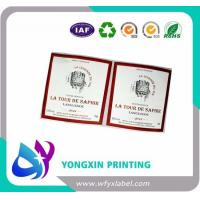 China High glossy self adhesive paper labels on sale