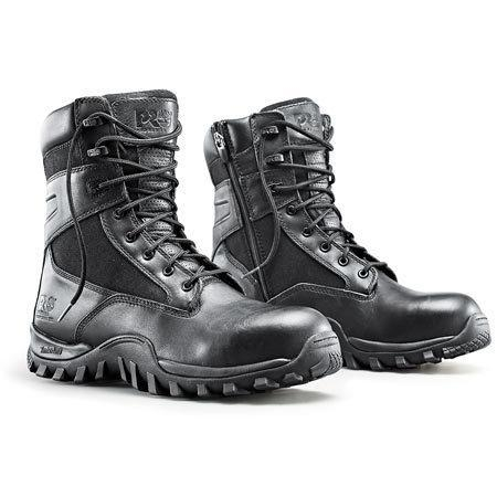 "Quality Timberland Pro Valor 8"" Comp Toe WP Side Zip Boot for sale"