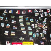 New Items From ThEngraver Canadian Province Pins-Closeout Price
