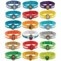 China Allergy Wristbands Alert Others of Kids Allergies on sale