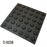 China 30mm Outdoor Path Black Rubber Floor Tiles on sale