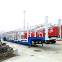 China 3 Axle Car Transport Semi Truck Trailer, Vehicle Car Carrier Semi Trailers For Sale on sale