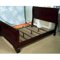 China Rich Mahogany Four Piece King Bedroom Set on sale
