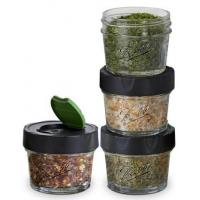 Ball Brand Glass Spice Jars (4-pack)
