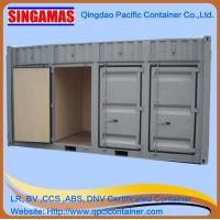 China Singamas Qingdao Factory Directly Produce and Sell 20ft Storage Container on sale