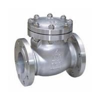 China Cracking Pressure Load Casting Check Valve wholesale