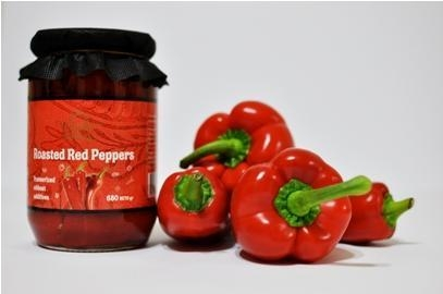 Quality Vardar Valley Roasted Red Peppers for sale