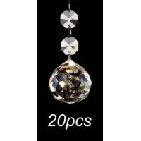 China Crystal Glass Ball Chandelier Prisms Pendants wholesale