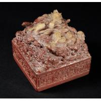 China Chinese imperial soapstone seal smashes auction record wholesale