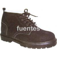 China 6-16 suede leather safety shoes wholesale
