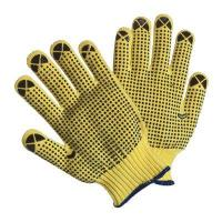 China 5-29 kevlar cut resistant glove with pvc dots wholesale