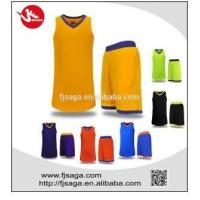 China Custom Jerseys Basketball Uniforms Breathable Clothes wholesale