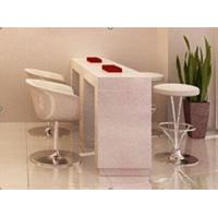 China china Artificial stone salon furniture bar table BMT-002 wholesale