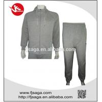 China Jogging casual fleece Trainning tracksuit or uniform with hoodies wholesale