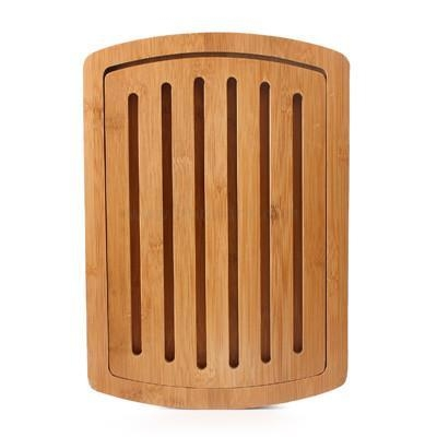 Quality Buy Best Bamboo or Wood Kitchen Open Groove Bread Cutting Board and Breadboard for sale