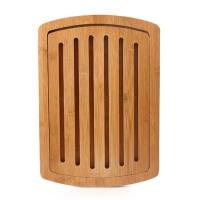 China Buy Best Bamboo or Wood Kitchen Open Groove Bread Cutting Board and Breadboard wholesale