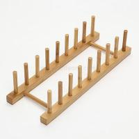 Buy cheap Bamboo Dish Holder and Kitchen Plate Rack and Large Dish Rack and Chopping Board Holder from wholesalers