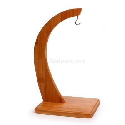 China Banana and Fruit Holder Tree Wooden Material Bamboo Tree Hanger