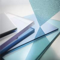 China Plastic Lexan Embossed Solid Polycarbonate Sheet Different Colors wholesale