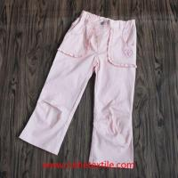 China Fashion Wide Leg Pants Outdoor Cotton Trousers for Girls wholesale