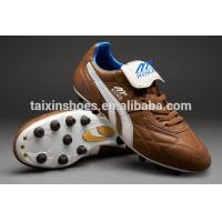 China 2014 Latest Design Soccer Shoes for Sale Comfortable Men