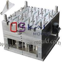China Plastic Broom Injection Mold with Sliders Designed and Work Full Automatic by Oil Motor and Air Jars wholesale