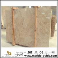 China Light Polished Crema Cappuccino Beige Marble For Bathroom Floor Tile Design wholesale