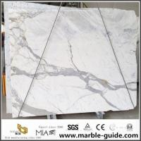 China Statuario Marble Slab For Bathroom Flooring Tile Countertops With Luxury Good Quality wholesale