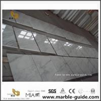 China East White Marble Cut Tiles For Flooring And Wall Tiles Art Design on sale