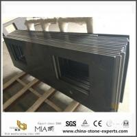 China Black Quartz Slab Worktops for Kitchen Counter with Best Prices on sale